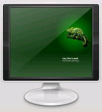 "fondo de escritorio ""Linux, libera tu mundo"""