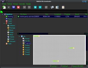 MultiGet descargando un archivo